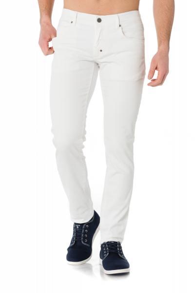 weiße Jeans im Skinny-Schnitt Antony Morato              title=
