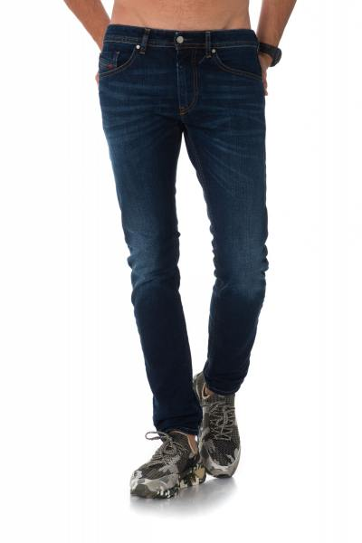Jean homme Diesel bleu coupe skinny              title=