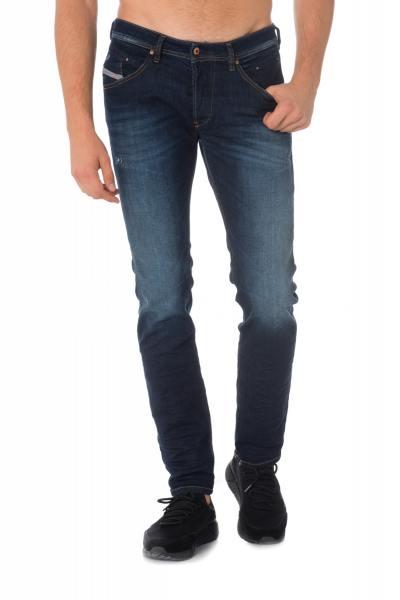 Blaue ausgewaschene Herren Jeans von Diesel              title=