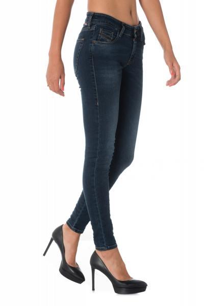Damen Skinny Jeans Diesel SLANDY 00SGSQ 084UT              title=