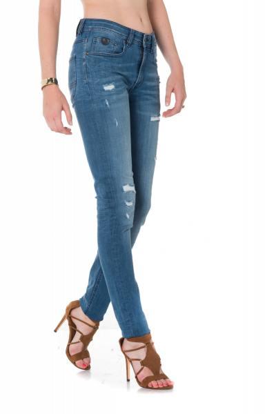 Kaporal Herren Skinny Jeans im Used Look
