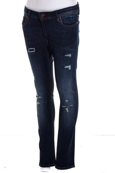 Blaue Kaporal Kinder Jeans im Used Look              title=