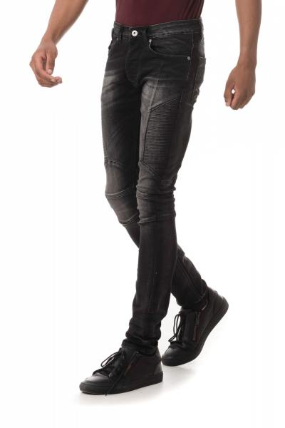Jean Homme Redskins CRUZ HEAVY BLACK USED