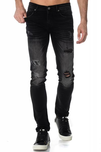 Jean Homme Redskins HAMMON 2 HEAVY BLACK DESTROY