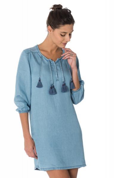 Jupe/Robe Femme Kaporal MOLKA LIGHT BLUE DENIM