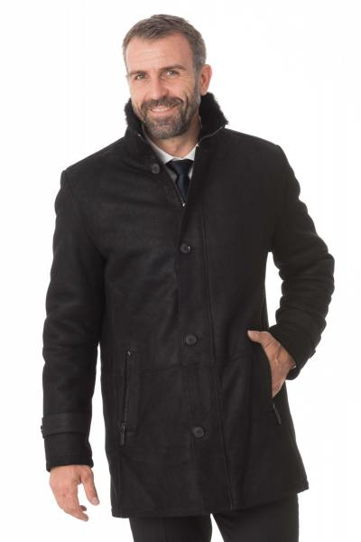 Manteau 29th October en peau d'agneau               title=