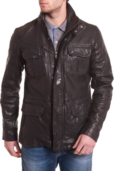 Manteau Homme Daytona RICARDO LAMB REDDISH BROWN