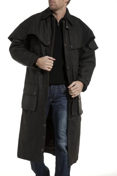 Manteau pour homme LAST REBELS en cuir gras