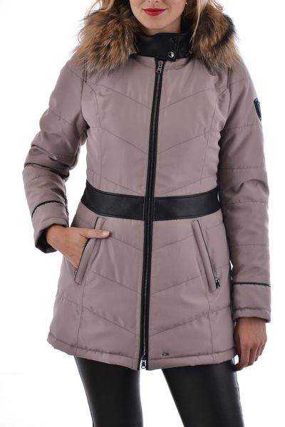 Beigefarbene Damen Winterjacke Oakwood VALLEY 1 TAUPE 525
