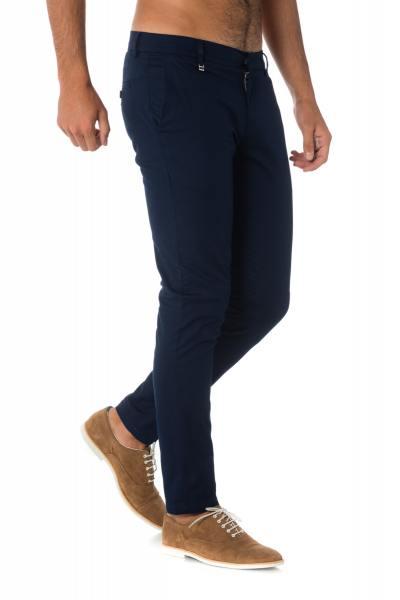Pantalon à pinces bleu marine Antony Morato              title=