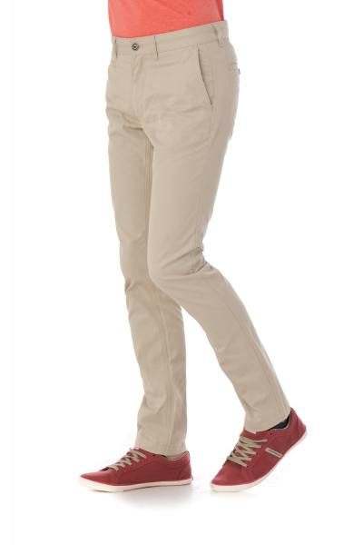 Chino chevignon couleur beige              title=
