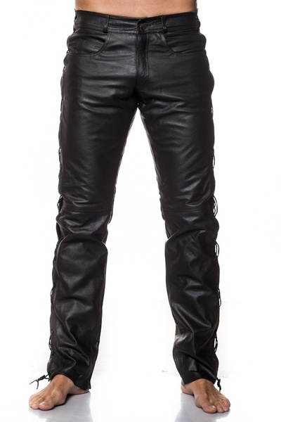 Pantalon Homme Last Rebels PANTALON LACES BL BLACK