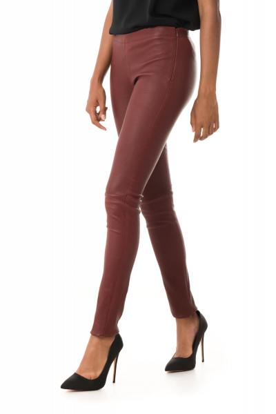 bordeauxfarbene Leggings Oakwood              title=