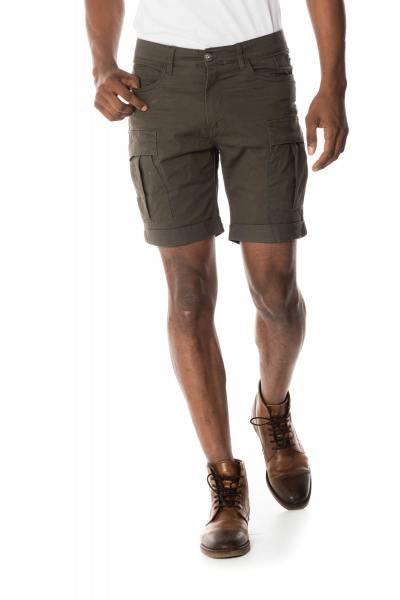 Bermuda homme coloris kaki              title=
