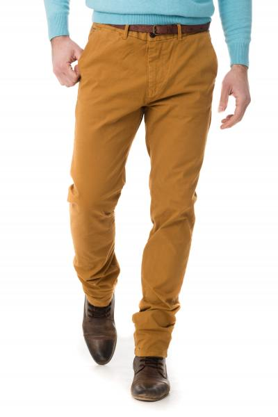 Herren-Chino-Hose Scotch & Soda in hellem Kamelfarbton              title=