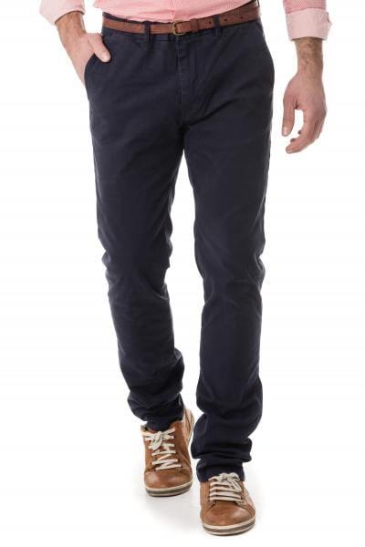 Pantalon chino bleu navy pour homme              title=