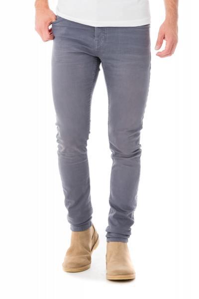 hellblaue Skinny-Jeans              title=