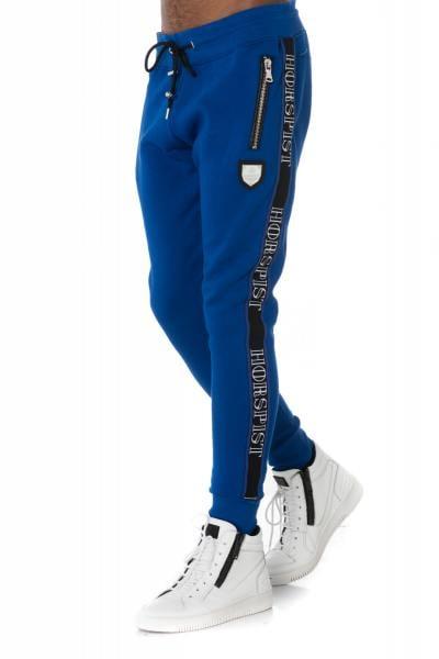 blaue Horspist-Jogginghose