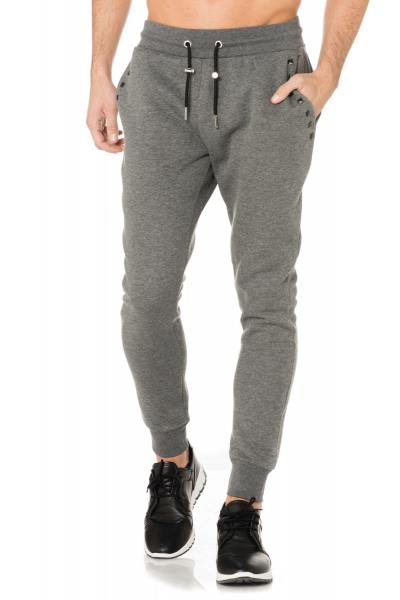 Pantalon jogging horspist gris              title=