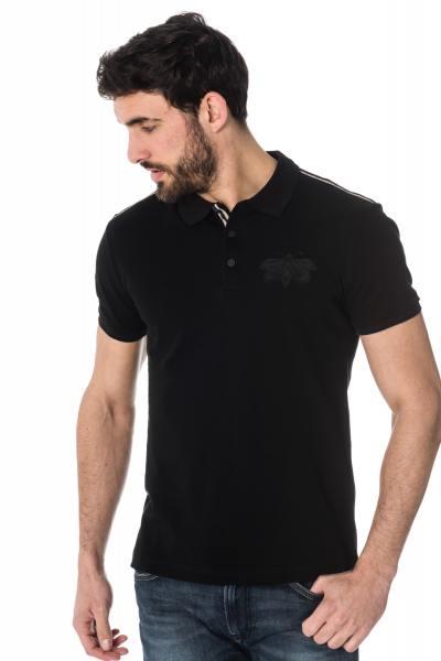 schwarze Herren-Polo-Shirt Antony Morato              title=