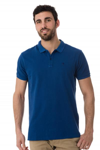 Polo bleu roi Scotch and Soda               title=