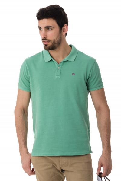 grünes Polo-Shirt Scotch and Soda              title=