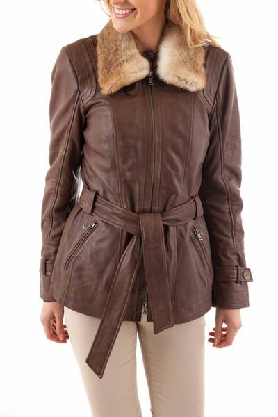 Veste Femme Oakwood VIC MARRON CLAIR 503