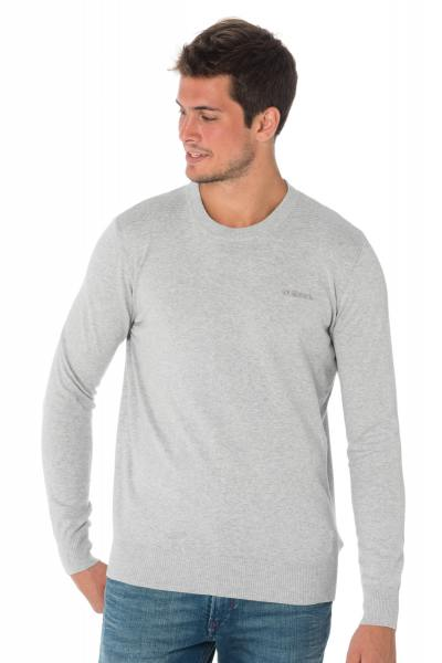 Pull homme gris clair Diesel              title=