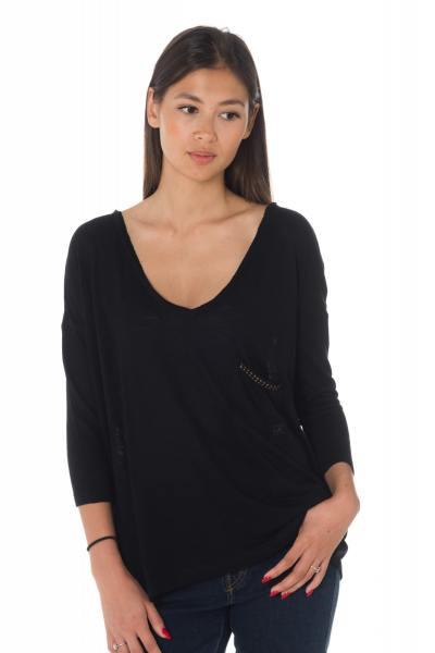 Pull/Sweatshirt Femme Kaporal TESP BLACK