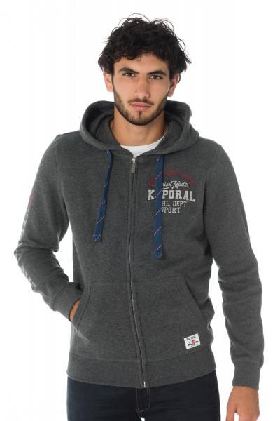 Pull/Sweatshirt Homme Kaporal FASK DARK GREY MELANGED
