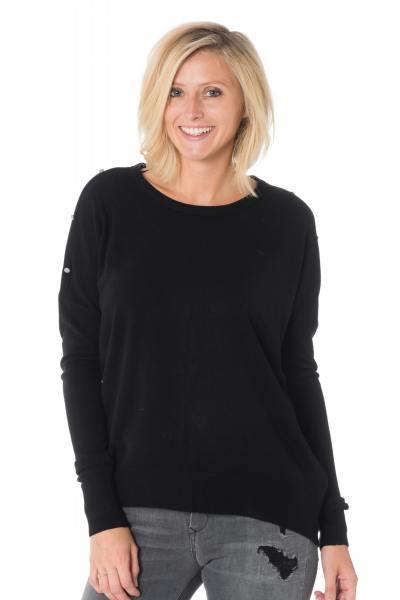 Pull/Sweatshirt Femme Kaporal CASEY BLACK