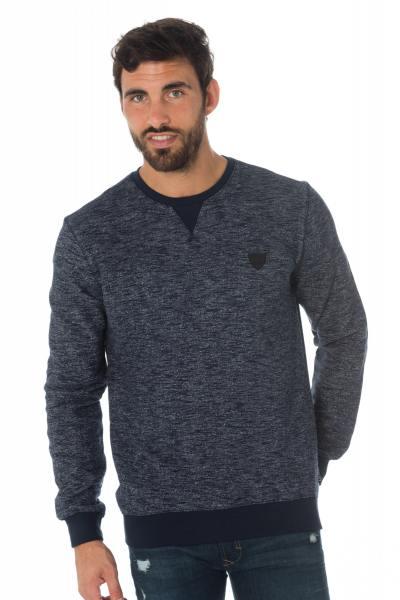 Blau-meliertes Kaporal Herren Sweatshirt