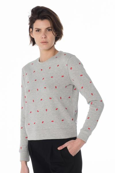 Pull/Sweatshirt Femme Le temps des Cerises SWEAT BLUSH ASH GREY