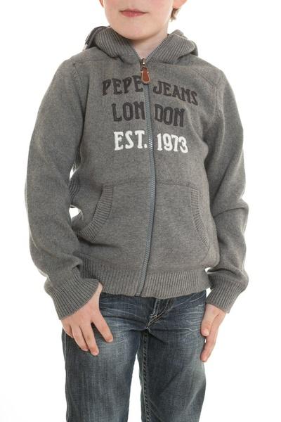 Gilet enfant Pepe Jeans Gris              title=