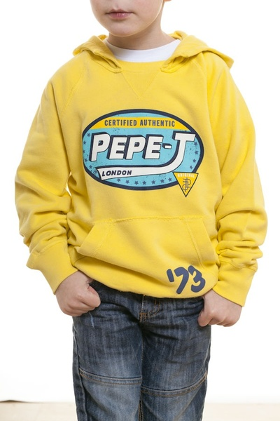 Sweat enfant Pepe Jeans jaune              title=