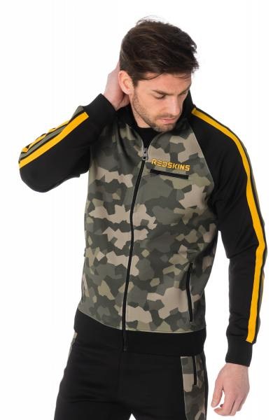 camouflagefarbene Herrenjacke Redskins