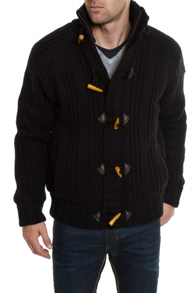 Pull/Sweatshirt Homme Schott PLKEYSTONE1 NOIR