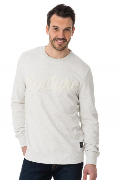 Herrenpullover aus gebrochenem Weiß Scotch and Soda              title=
