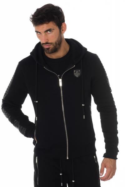 Pull/Sweatshirt Homme horspist LEEDS M300 BLACK/BLACK