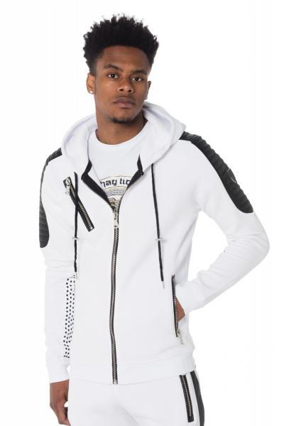 Pull/Sweatshirt Homme horspist TOMAS M300 WHITE