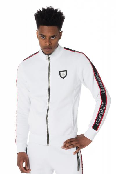 Pull/Sweatshirt Homme horspist WILLIS M300 WHITE