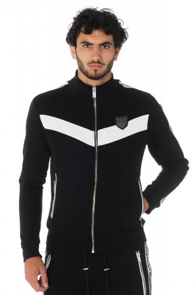 Herren Reißverschluss Sweater NASH BLACK von Horspist              title=