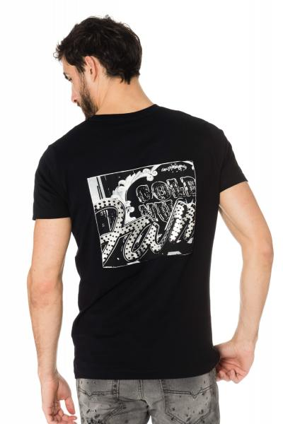 Tee-shirt homme Diesel noir              title=