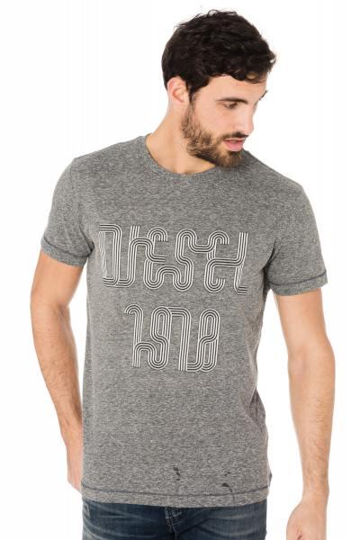 graues Herren-Shirt Diesel