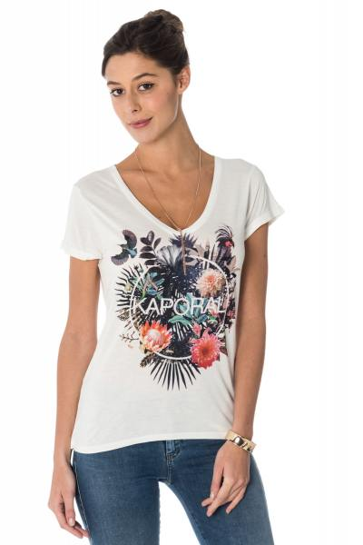 Tee Shirt Femme Kaporal HOLIV CLOUD
