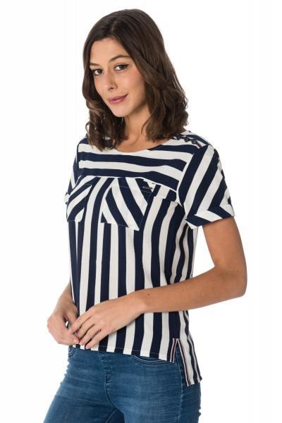 Tee Shirt Femme Kaporal HAYE WHITE