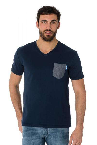 Tee Shirt Homme Kaporal GIVAR BLUE US