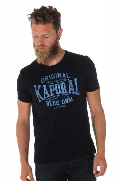 Tee Shirt Homme Kaporal BRISK BLACK