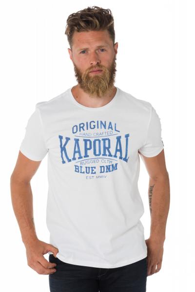 Tee Shirt Homme Kaporal BRISK WHITE