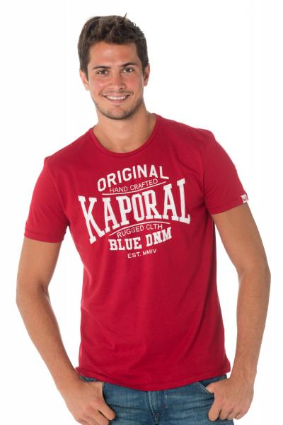 Tee Shirt Homme Kaporal BRISK NEO RED